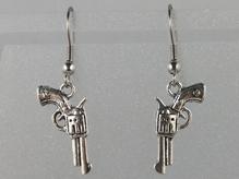 Ohrhänger Revolver